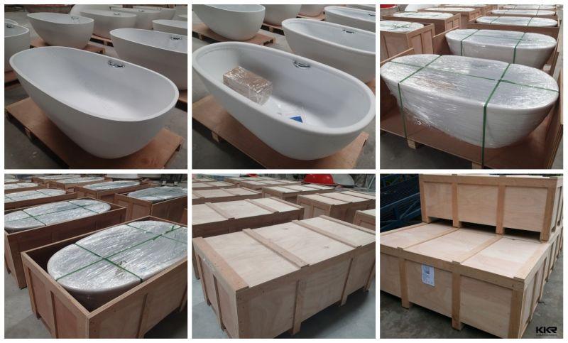 Vasca Da Bagno Disegno : Vasca da bagno di pietra di superficie solida indipendente di
