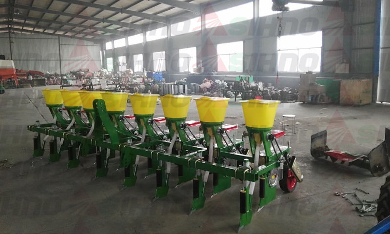 4 Rows Tractor Traction Corn Seeder