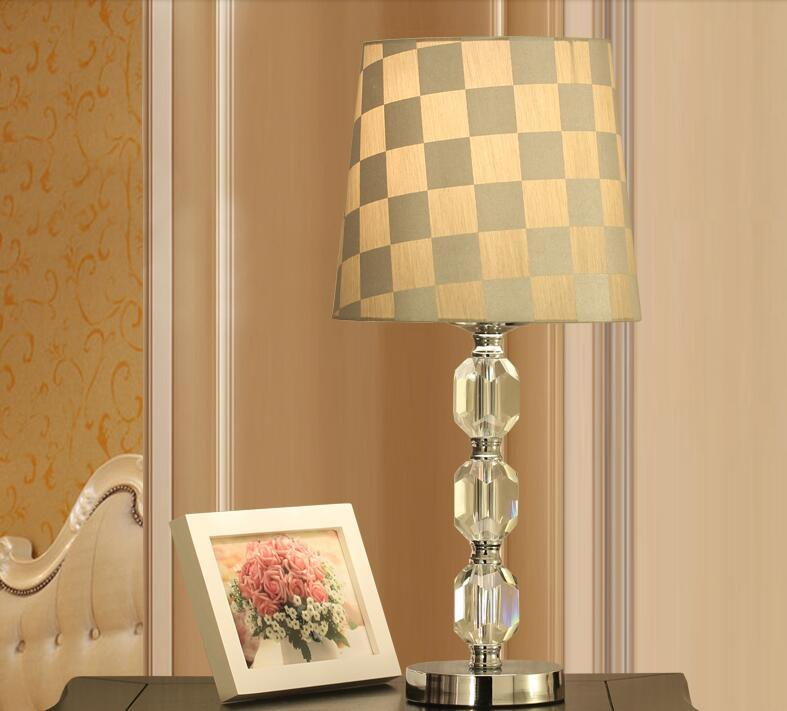 Crystal Table Lamps For Home Decoration