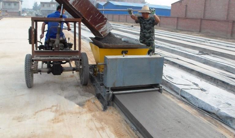 [Hot Item] High Performance Precast Concrete Roof Slab Making Machine