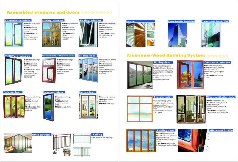 Finestra Di Alluminio Di Ellisse Di Windows Del Ciclo Di