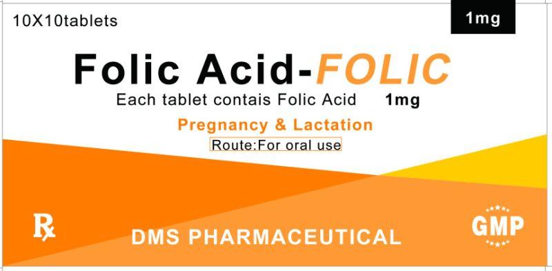 folacin 5 mg