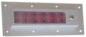 Light-Weight and Area Efficient Cable Sealing Solution for Cabinets, Multi Diameter Adjuestable Cable Wall Entry
