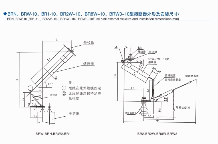 China Hrc Fuse Brw2 Power Fuse China Fuse Power Fuse