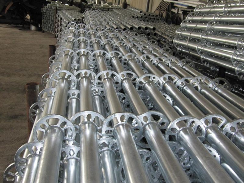 Galvanized Layher Scaffolding System Allround Ring Lock Scaffold