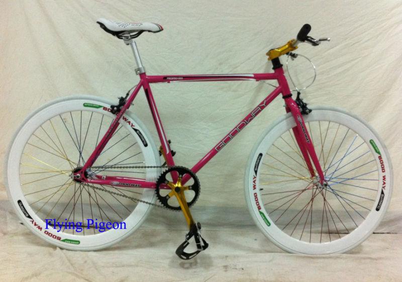 El alto grado de acero cromo de bicicletas de piñón fijo de 700c ...