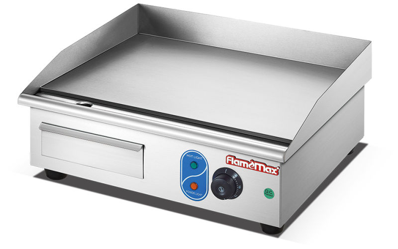 Stainless Steel Flat Plate Electric Grill /Griddle, Commercial Hotel /Restaurant Griddles