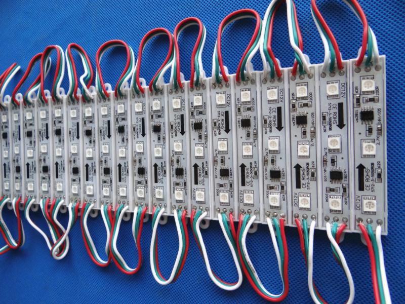 Hot Selling IC1903 12V 3LED Waterproof 5050 Full Color LED Module