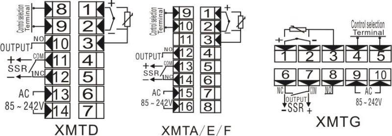 cj pantalla digital control de temperatura  xmtg