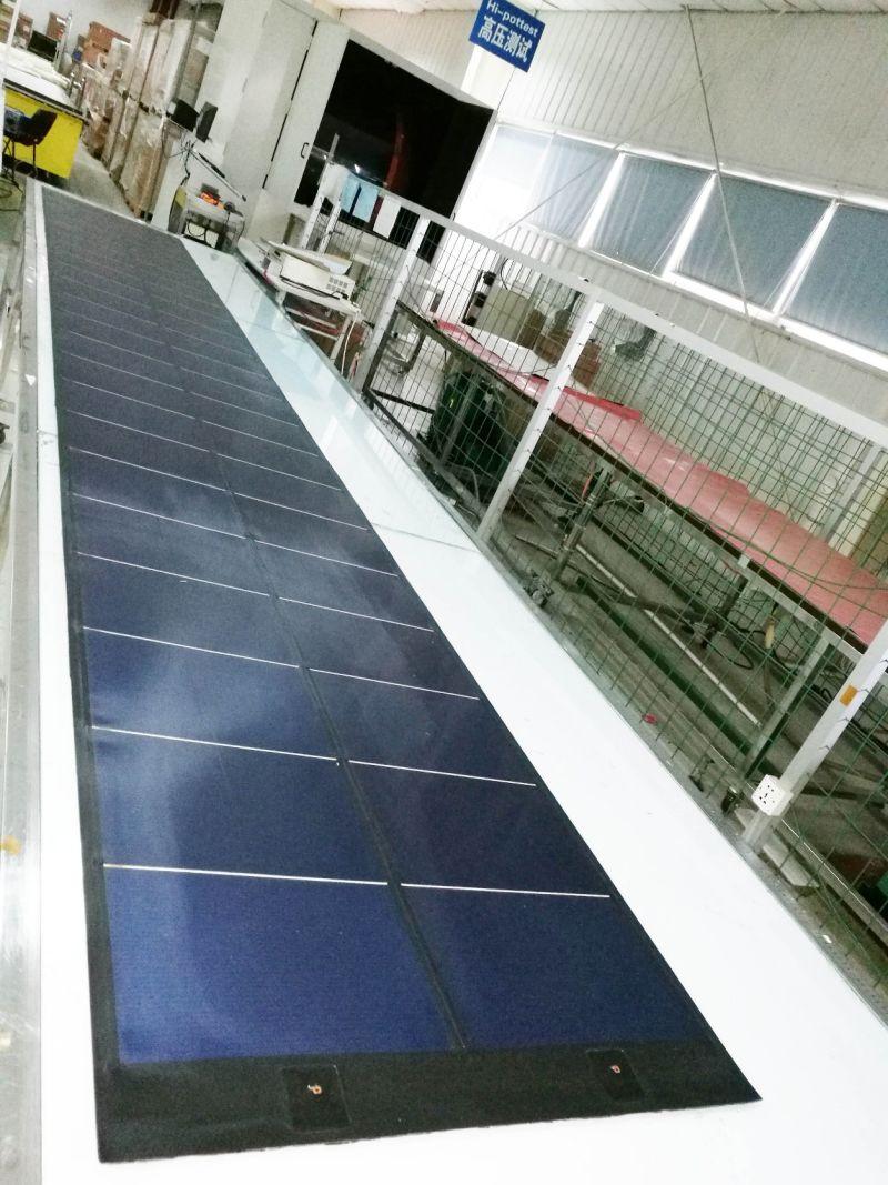 Cellule Photovoltaïque En Silicium Amorphe se rapportant à 288w film mince de silicium amorphe module solaire souple pour la