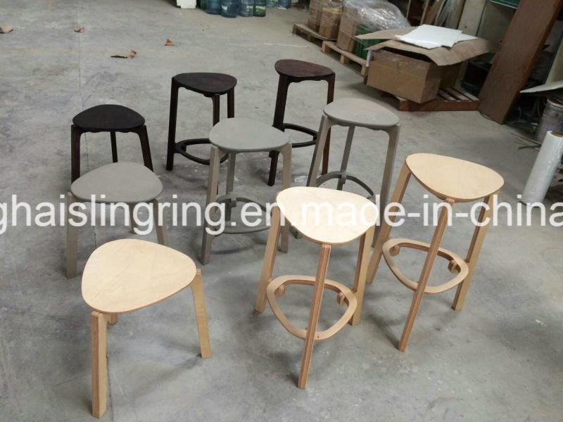 Openbare openlucht het wachten stoel met plastic houten comité