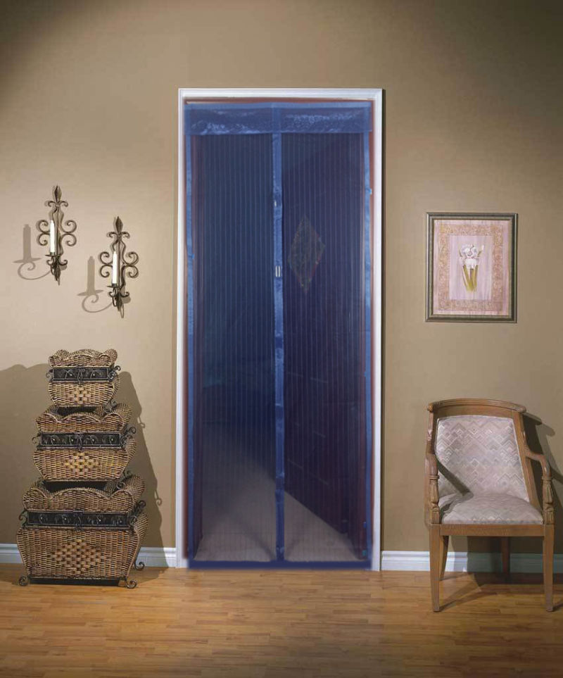 China Fly Door Screens And Magnetic Fly Screens For Patio Doors