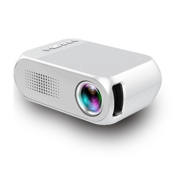Mini HD LED Projector 1080P Portable Household Office Universal Mini Projector